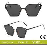 Neue Form-Großhandelssonnenbrillen mit Cer (107-D)