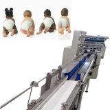 試験のパックのための使い捨て可能な赤ん坊のおむつの包装機械