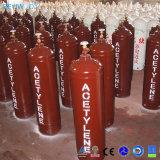溶接注入口1 2可融性のPulgが付いている鋼鉄アセチレンシリンダー