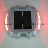 Goujon solaire bleu chaud de route de l'aluminium IP68 DEL de vente