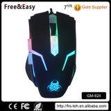 Preiswertere Spiel-Maus des Fabrik-Preis-6D Blacklit