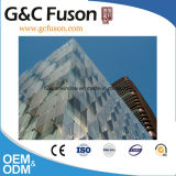 ヨーロッパ様式のアルミニウム構造ガラスカーテン・ウォール