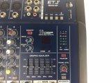Mini 4p DJ miscelatore professionale dell'audio miscelatore