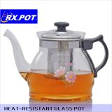Neues Design Tea Brewer Glass Teapot mit Edelstahl Infuser Factory Wholesale