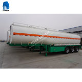 Смазочное масло из нержавеющей стали Tri-Axle 60000литров топлива танкер прицепа