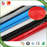 Tecidos pesados de polietileno de alta densidade de tecido preto Tarp