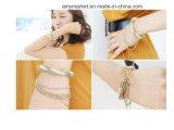 Bracelet Chaîne en métal tissés à l'Europe en alliage de style Charm Bracelets 6 couleur