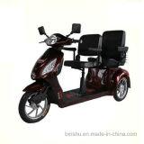 """""""trotinette"""" incapacitado do assento dobro de 3 rodas com 500W"""