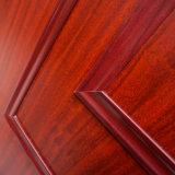 Le bois porte en plastique étanche composite de la peau WPC porte intérieure du châssis