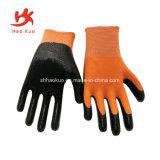 La sécurité industrielle gant enduit de latex pour le travail résistant aux coupures