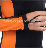 Женские цельный лайкра колпачковая сыпь ограждение для купальный костюм, спортивная одежда и снаряжение для дайвинга износа