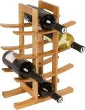 Levering voor doorverkoop de van uitstekende kwaliteit van het Rek van de Wijn van het Bamboe van de Douane van het Meubilair van de Keuken