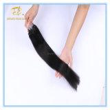 Kundenspezifische Farben-Doppeltes gezeichnete Mikroring-Extensions-Haare der Farben-Qualitäts-#1b natürliches mit Fabrik-Preis Ex-021