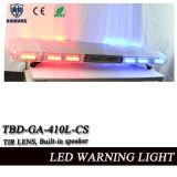 СИД Lightbar с цветом диктора, объектива Tir, красных и голубых (TBD-GA-410L-CS)
