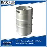 SUS304 DIN 50 van het Bier van het Vaatje Liter van de Leverancier van China