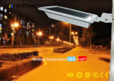 6W LED integrado de la calle con luz solar panel solar