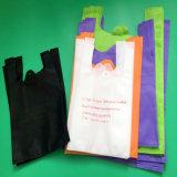 Die biodegradierbare nicht gesponnene angepasste Einkaufstasche aufbereiten