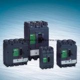 3 corta-circuito ajustable de poste /4 poste MCCB 63A/100A/160A/250A/400A/630A/800A/1000A/1250A/1600A Ns /Nsx