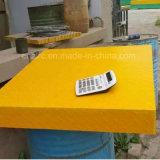 Gradeamento de fibra de vidro com tampa / GRP chiadeira com saibroso cobrir
