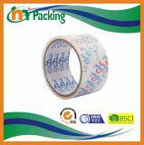OEMはカートンのシーリングBOPP透明なパッキングテープを印刷した