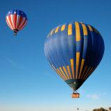 aerostato caldo facente un giro turistico commerciale blu di 400kg Inflatables per fare pubblicità