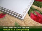 Painel duplex impermeável com cinza para impressão