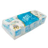 Un solo paquete contenedor de papel Rollo de papel higiénico de la máquina de embalaje