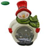 Het Standbeeld van de Sneeuwman van de Ambacht van het Decor van Kerstmis