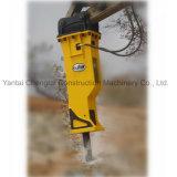 Type de boîte Silence brise roche hydraulique avec la tige de forage fabriqués en Chine pour 4.5.excavatrice 6.7ton