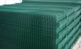 Зеленый ПВХ Cioated сварные ограждения
