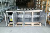 3つのドアのステンレス鋼のセリウムが付いている商業Undercounter冷却装置