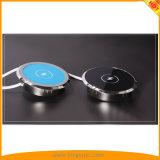 La moda de Qi cargador inalámbrico Pad para teléfono móvil, Smartwatch, Pad