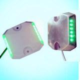 Aluminio/espárrago atado con alambre ABS del camino de la etiqueta de plástico/LED del camino del túnel