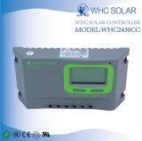 Hot Sale PWM 12V 24V 30A Contrôleur solaire