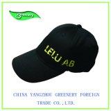 Chapeau simple de sport de broderie de type avec vert-foncé