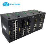 Gigabit avanzada Managed Switch industrial con 16 puertos + 4G