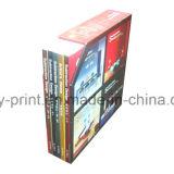 Libro di Hardcover con un servizio di stampa dell'apparecchio riunitore dei nastri (JHY-001)