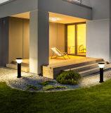최신 판매는 옥외 LED 태양 포스트 초막 통로 잔디밭 빛을 방수 처리한다