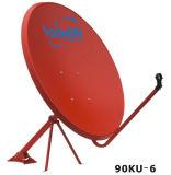 riflettore parabolico Antnena, antenna esterna della Ku-Fascia di 90cm della TV