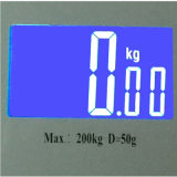 큰 Platform (345X315mm) 8mm Tempered Glass Digital Personal Health Body Scale