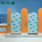 Partition phénolique de compartiment de toilette de jardin d'enfants de Jialifu HPL