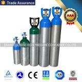 cilindro di ossigeno di alluminio di 2.5lb 5lb 10lb 20lb Cina utilizzato di industria e medico