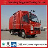 아프리카를 위한 Sinotruk HOWO 4*2 소형 밴 작은 트럭