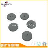 Extranjero UHF tamaño botón H3 etiqueta de RFID para el Servicio de lavandería
