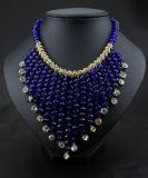 De hete Nieuwe Halsband van de Nauwsluitende halsketting van het Kristal van 2017 Volledige voor Vrouwen, de Recentste Juwelen van de Halsband van de Manier