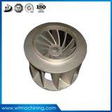 회색 철을%s 가진 OEM에 의하여 주문을 받아서 만들어지는 수도 펌프 임펠러