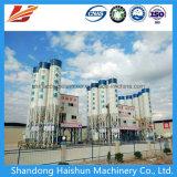 procesamiento por lotes por lotes inmóvil mezclado móvil/mezcla del concreto del cemento 25m3/H/planta del mezclador
