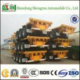 De Aanhangwagen van de Vrachtwagen van het Vervoer van de Container van het skelet