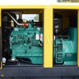 Varta 건전지를 가진 침묵하는 유형 디젤 엔진 발전기 세트 삼상 50Hz