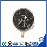 Manometro elettrico ad alto rendimento elettronico del contatto con superiore